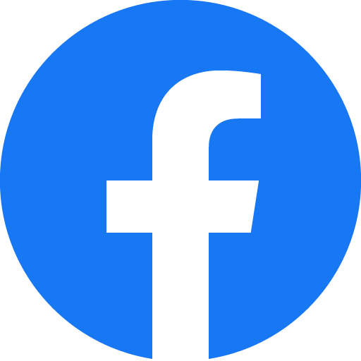 the blue facebook logo
