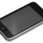 ipod touch screen mobile device