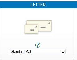 Nonprofit Postage Discount Calculator Standard Letter