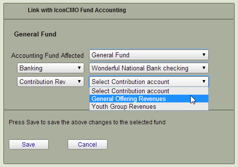 Setting General Fund Contribution-Accounting Link