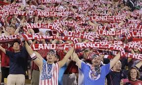 Americans Cheering on USA