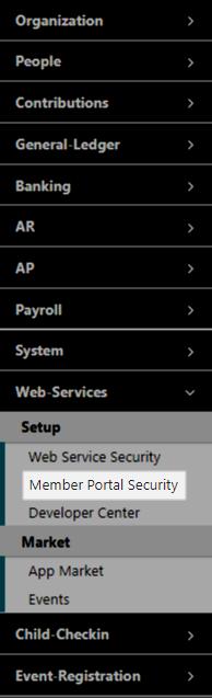 IconCMO Church Software Member Access Portal App